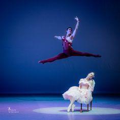 Mariam Eloshvili and Yonen Takano in Le Spectre de la rose. State Ballet of Georgia at X Jõhvi balletifestival - Photo by Jack Devant