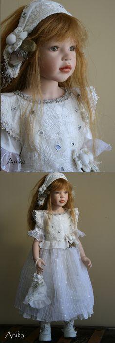 "Zawieruszynski - ""Anika"" - 2009  32 inches tall Vinyl Doll"