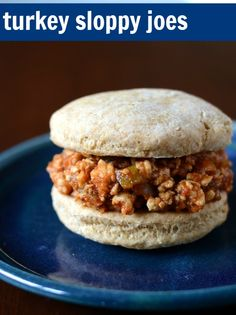 Turkey Sloppy Joes | Real Food Real Deals #healthy #recipe