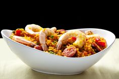 Be sure to impress your dinner guests with this chorizo and seafood paella. Find this recipe and hundreds of other recipes at Tesco Real Food today! Most Popular Recipes, Other Recipes, Favorite Recipes, Ceviche, Spanish Paella, Spanish Rice Recipe, Seafood Paella, Paella Recipe, Tesco Real Food