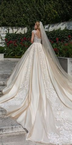 Crystal Design 2018 Wedding Dresses And And GardenAnd ★ crystal design 2018 wedding dresses ball gown princess lace backless caps sleeves ivory style royce Garden Wedding Dresses, Princess Wedding Dresses, Dream Wedding Dresses, Designer Wedding Dresses, Bridal Dresses, Wedding Gowns, Blue Wedding, Ball Dresses, Ball Gowns