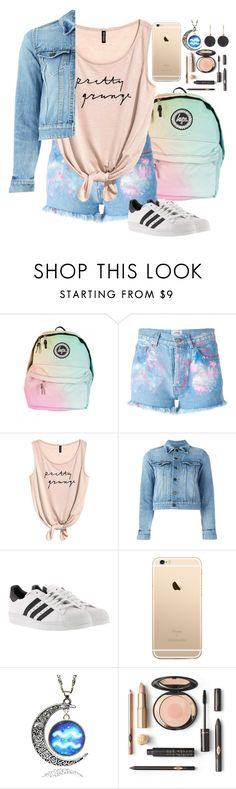 """""""#streetstyle"""" by amalia-ammi ❤ liked on Polyvore featuring Forte Couture, Yves Saint Laurent, adidas and Astley Clarke"""