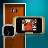 New Smart Peephole Viewer Visual Doorbell Security Home Feature