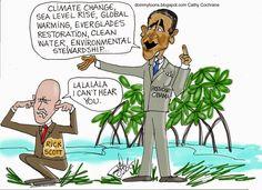 DoinMyToons: Earth Day Everglades