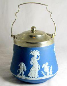 Antique Victorian Wedgwood Blue by keepsies