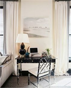 black and white greek key trim | Or displaying it with Rugs and Mirrors and Pillows and Walls!
