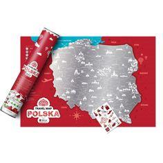 Mapa zdrapka Polski, prezent dla podróżnika #travel #podróże #prezent #mapa #zdrapka #busemprzezswiat