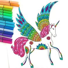 Have some fun coloring in this magical unicorn downloadable coloring page. - You will receive a .jpeg digital file with ONE (1) coloring page - File will be emailed to your Etsy email address - Print on plain 8 1/2 x 11 paper - Image prints in a portrait format - Image is enlarged to cover a large portion of the page with about a 1.25 border. If you want something smaller just message me :). - Color with watercolors, markers, crayons or colored pencils. The coloring page file is for pers...