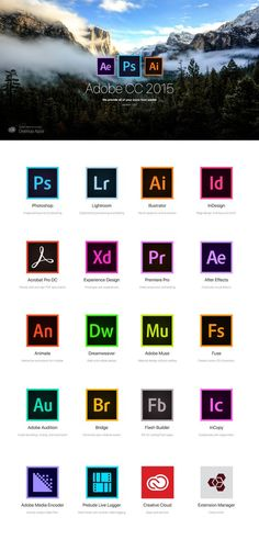 Adobe icon CC 2015 Free par Aleks Daiwer