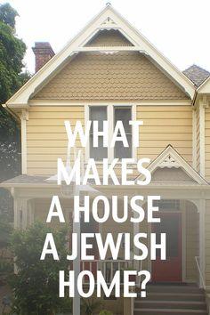 A photo essay about the the qualities that define a house as having a Jewish identity. Jewish Quotes, Jewish Humor, Jewish History, Jewish Art, Jewish Crafts, Jewish Food, Comida Judaica, Chai, Jewish Customs