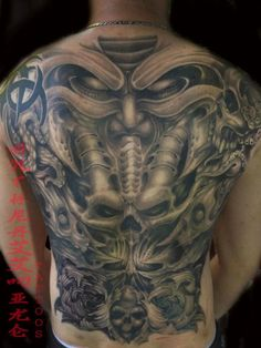 215 Best Back Piece Tattoos Images Nice Tattoos Amazing Tattoos