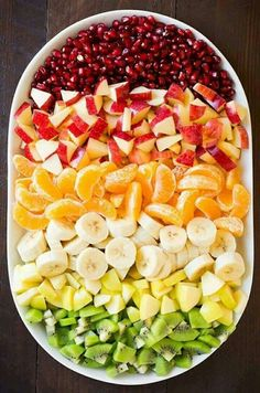 healthy side opts for 10 servings Winter Fruit Salad with Lemon Poppy Seed Dressing - Cooking Classy fruit Healthy Fruits, Fruits And Veggies, Healthy Snacks, Healthy Eating, Healthy Recipes, Fruits Basket, Vegetables List, Citrus Fruits, Tropical Fruits