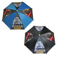 Official Licence STAR WARS Children s UMBRELLA Great Christmas Gift - 2 Designs