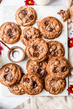 Cookies chocolats macadamia - Made in Clem's