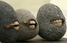 With smiles like that they must be...stoned by TruShu, via Flickr  This is truly bizarre
