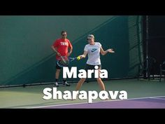 TennisAcademy101 - Maria Sharapova Training Session in SlowMotion at the Miami Open 2015.  Training hard all her offensive shots.  Send us your comments, we love to hear from you .  If you like what we do please take the time to SUBSCRIBE FOR FREE to our Youtube Channel, more of these videos to come each week.