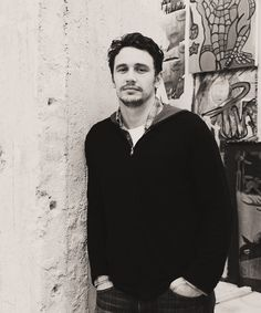 James Franco. Weird, super sexiest ever, smart, talented, refreshing, chill, easy.