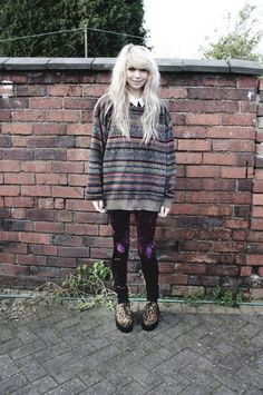 My grunge fashion : Photo