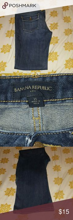 Banana Republic jeans Super cute jeans from Banana Republic.  Excellent condition. Banana Republic Jeans