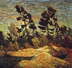 Tom Thomson and the Group of Seven: Destinations Canadian Painters, Canadian Artists, Landscape Art, Landscape Paintings, Landscapes, Small Paintings, Acrylic Paintings, Emily Carr Paintings, Tom Thomson Paintings