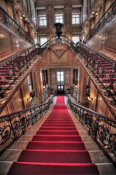 Staircase of the Hermitage, St.Petersburg, Russia.