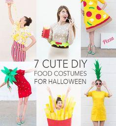 7 CUTE Food Costumes TO-DIY For Halloween by Studio DIY