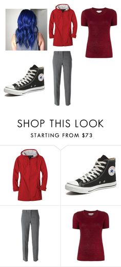"""""""How to cosplay as Dante from Minecraft Diaries"""" by atang-1 ❤ liked on Polyvore featuring prAna, Converse, DKNY, Étoile Isabel Marant, women's clothing, women, female, woman, misses and juniors"""
