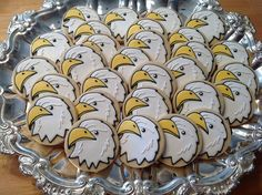 Eagle cookies by sugarcookiecreations, via Flickr