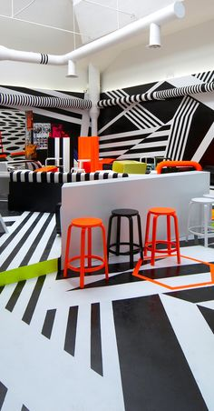 Venice Biennial Cafe, Italy    by Tobias Rehberger  2009
