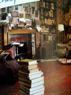 Books Stacked On The Floor Thats Why God Invented EPub Documents
