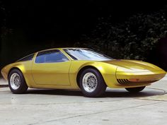 opel gt w geneve concept 1975 r4 Opel GT W Geneve Concept