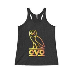 Now avaiable on our store: Ovo Rapper Bird O... Check it out here! http://ashoppingz.com/products/tri-blend-racerback-tank?utm_campaign=social_autopilot&utm_source=pin&utm_medium=pin