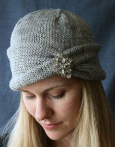 Knitting Pattern for Nola Cloche
