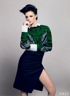 Vogue, August 2012