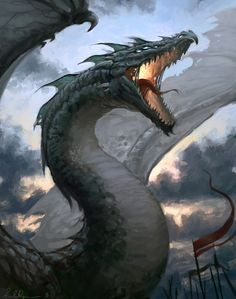 Mighty Dragon by Selenada.deviantart.com on @deviantART