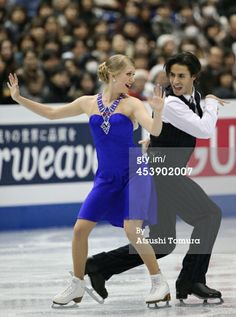 FUKUOKA, JAPAN - DECEMBER 06: Kaitlyn Weaver and Andrew Poje of Canada compete in the ice dance short dance during day two of the ISU Grand Prix of Figure Skating Final 2013/2014 at Marine Messe Fukuoka on December 6, 2013 in Fukuoka, Japan. (Photo by Atsushi Tomura/Getty Images)