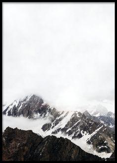 Mountain tops, poster i gruppen Posters og plakater / Størrelser / 30x40cm hos Desenio AB (8155)