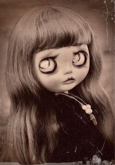 The Sinner Desdemona Custom Blythe Doll by por SweetCrate en Etsy