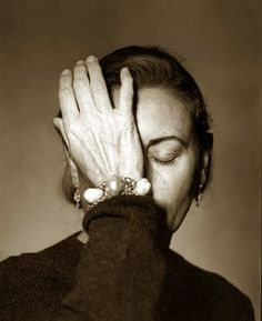Miuccia Prada - Trying to think of something beautiful to design!!!