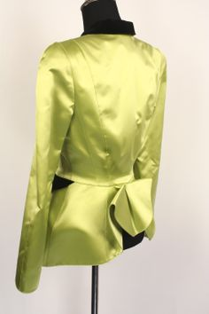 THIERRY MUGLER Jacket with Bustle   From a collection of rare vintage jackets at http://www.1stdibs.com/fashion/clothing/jackets/