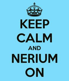 KEEP CALM AND NERIUM ON    www.wenda.nerium.com