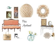 """""""Paris apartment"""" by decobrock ❤ liked on Polyvore featuring interior, interiors, interior design, home, home decor, interior decorating, WALL, Chanel and Yves Saint Laurent"""