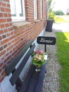 Min lille butik med blomster fra haven