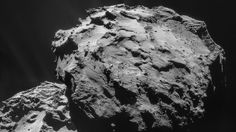 Rosetta's comet adds to the riddle of Earth's oceans