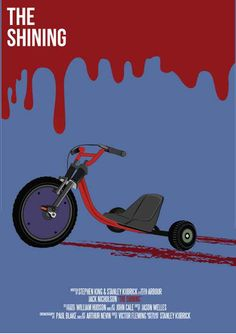 The Shining, Tricycle, Blood