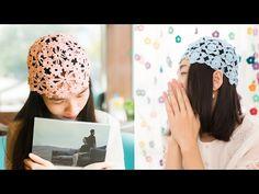 鉤針編織帽子 鏤空帽(星星款) 1/2 - YouTube