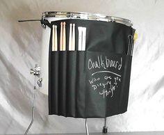 Roll It Ups Drumstick Bag Drum Stick Bag Drummer by FleaPuckett