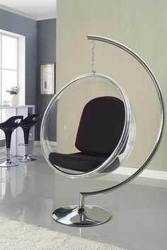 Superior California Modern Outdoor Indoor Metal Stand For Hanging Circle Chair   Stainless Steel $229.00 $450.00 49