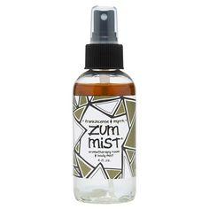 Zum® Frankincense and Myrrh Mist 4 oz : Target $9.95