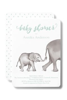 The perfect baby shower invitation can help inspire the rest of the party in a variety of ways, from color to theme and everything in between! You're sure to find an invitations that matches your theme in our collection. Maybe you'll find some theme inspiration for the shower while you search!